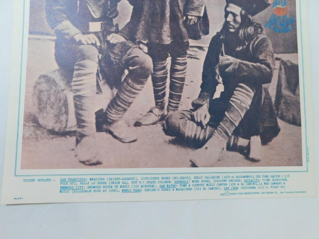 1967 GRATEFUL DEAD ORIGINAL CONCERT POSTER & MORE - 5