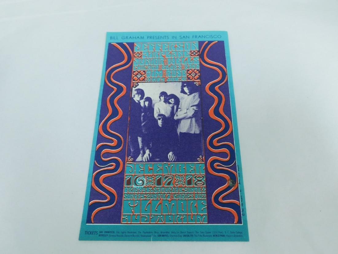 1966 BILL GRAHAM PLAYBILL - JEFFERSON AIRPLANE & M