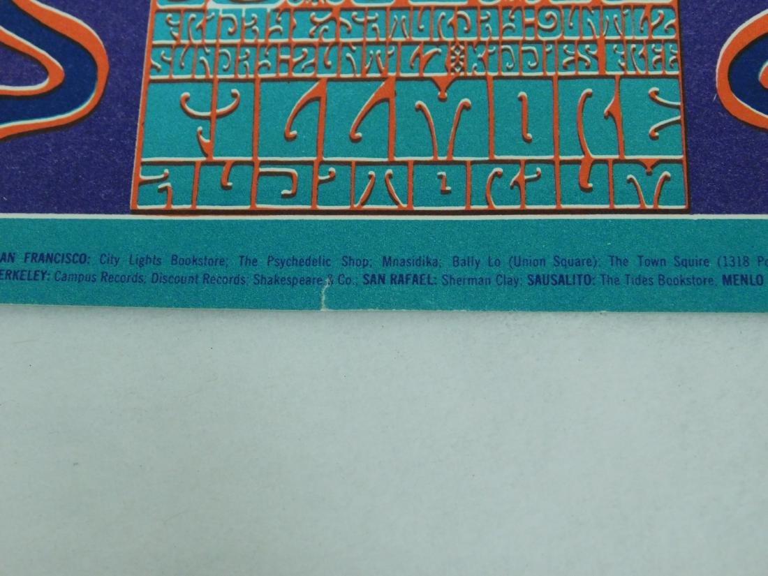1966 BILL GRAHAM PLAYBILL - JEFFERSON AIRPLANE & M - 4