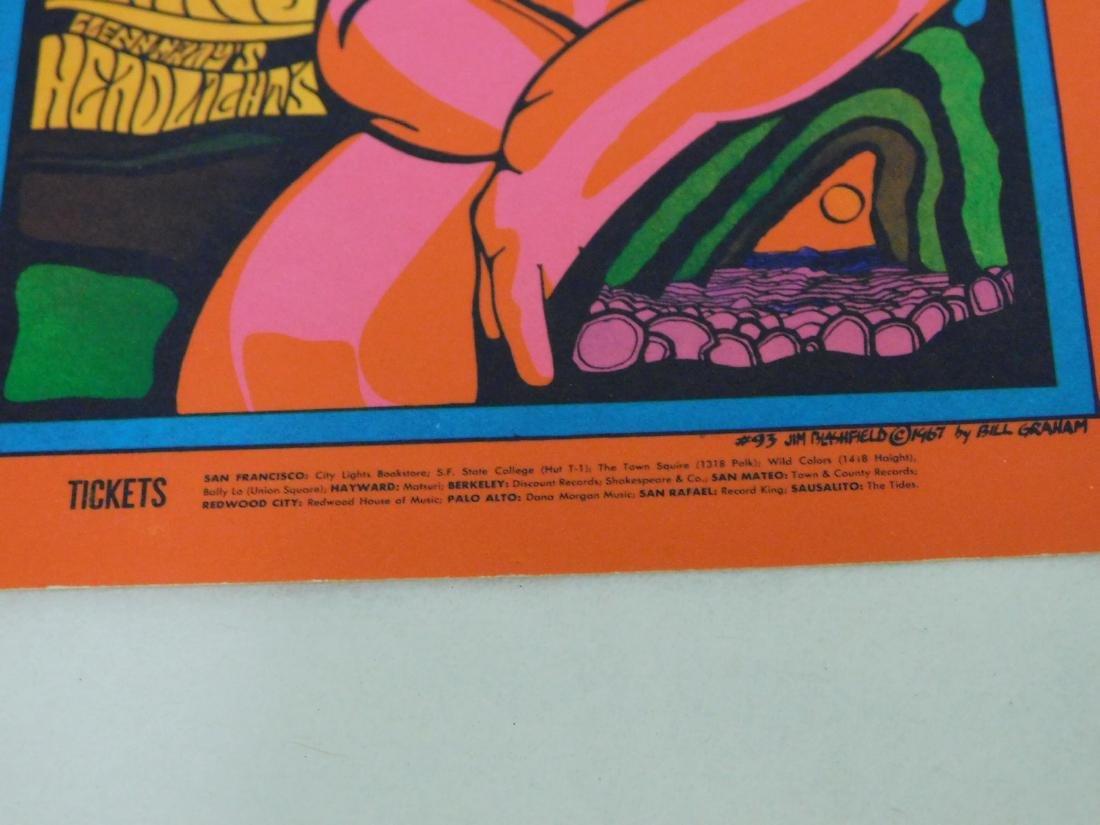 THE DOORS 1967 POSTCARD/HANDBILL - 4