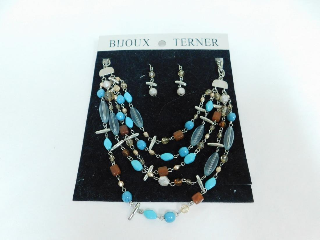 TURQUOISE NECKLACES & NECKLACE EARING SET - 2