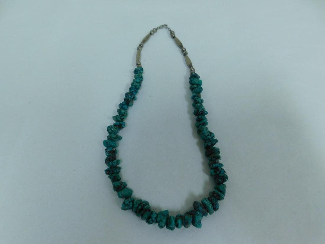 TURQUOISE NECKLACES & NECKLACE EARING SET - 5