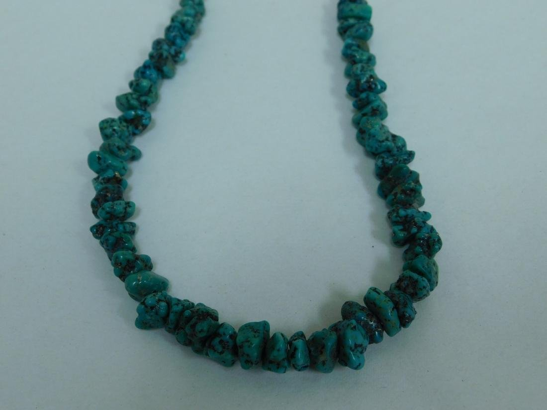 TURQUOISE NECKLACES & NECKLACE EARING SET - 6