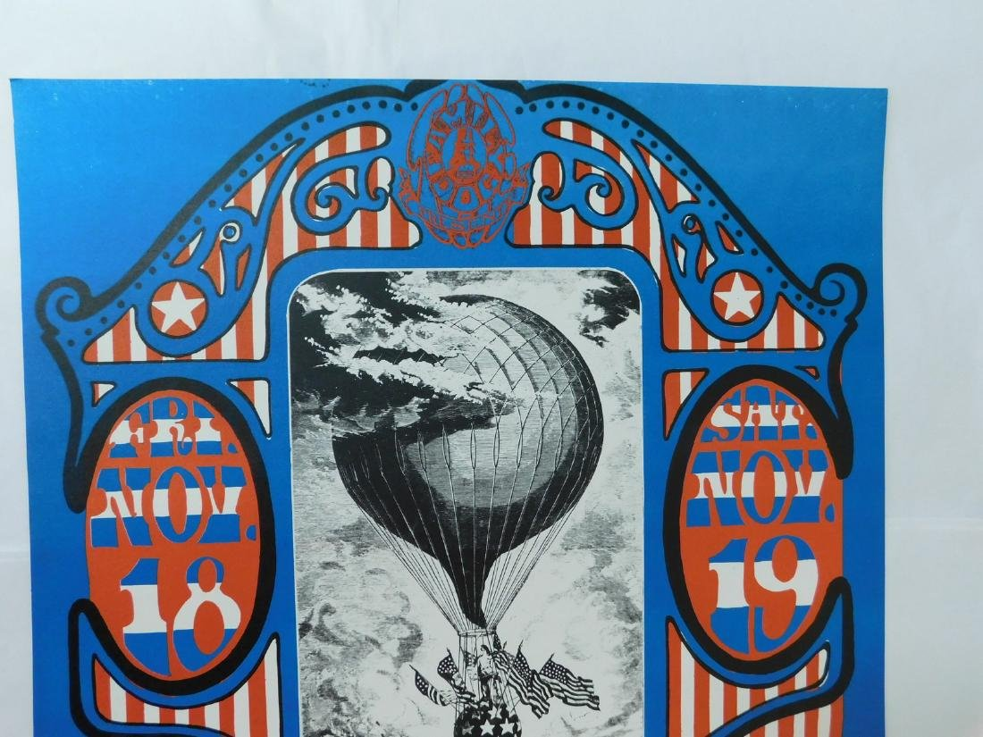 1966 DAILY FLASH - QUICK SILVER CONCERT POSTER - 2