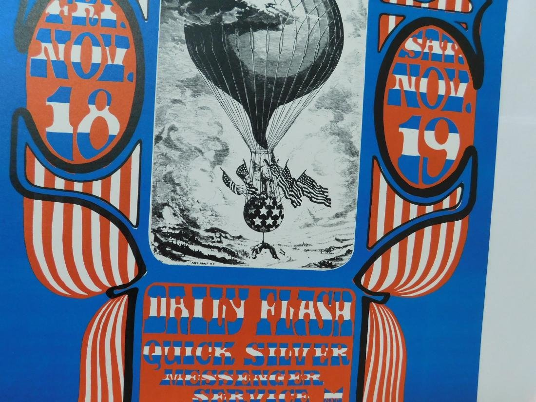 1966 DAILY FLASH - QUICK SILVER CONCERT POSTER - 3