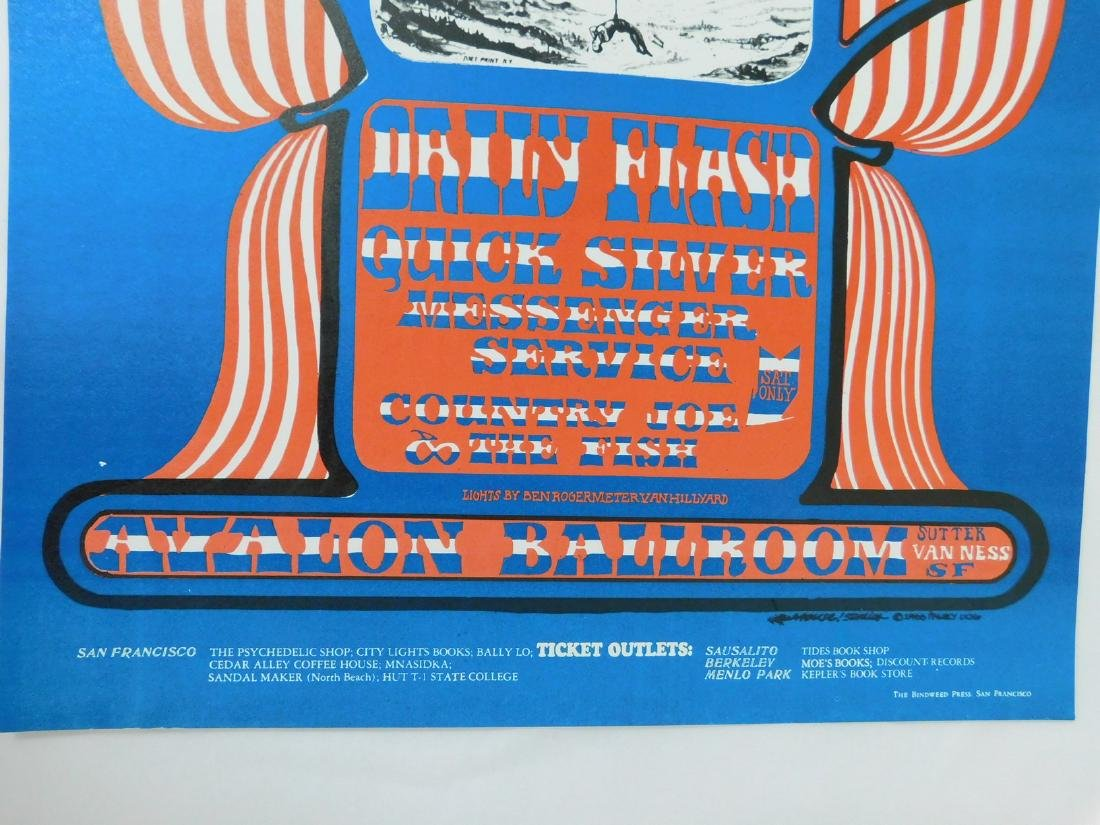 1966 DAILY FLASH - QUICK SILVER CONCERT POSTER - 4