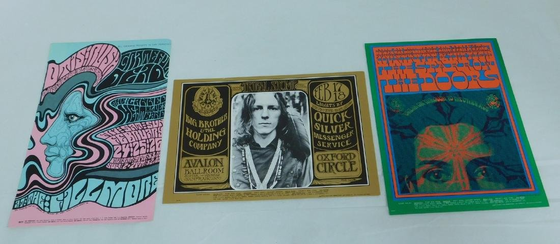 GRATEFUL DEAD - THE DOORS & QUICK SILVER VINTAGE P