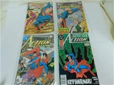 4 DC SUPERMAN COMICS