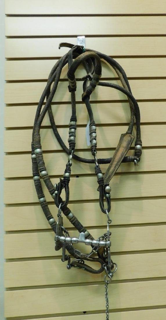 PRE-OWNED LEATHER HORSE BRIDLE