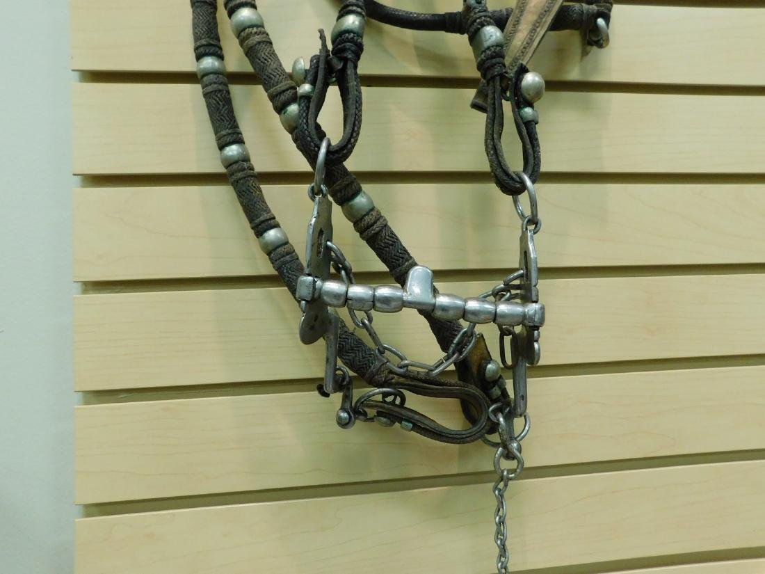 PRE-OWNED LEATHER HORSE BRIDLE - 2