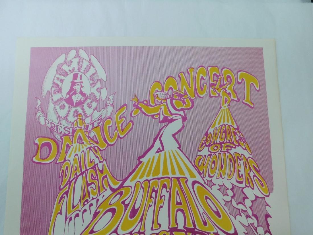 BUFFALO SPRINGFIELD ROCK CONCERT POSTER & MORE - 3