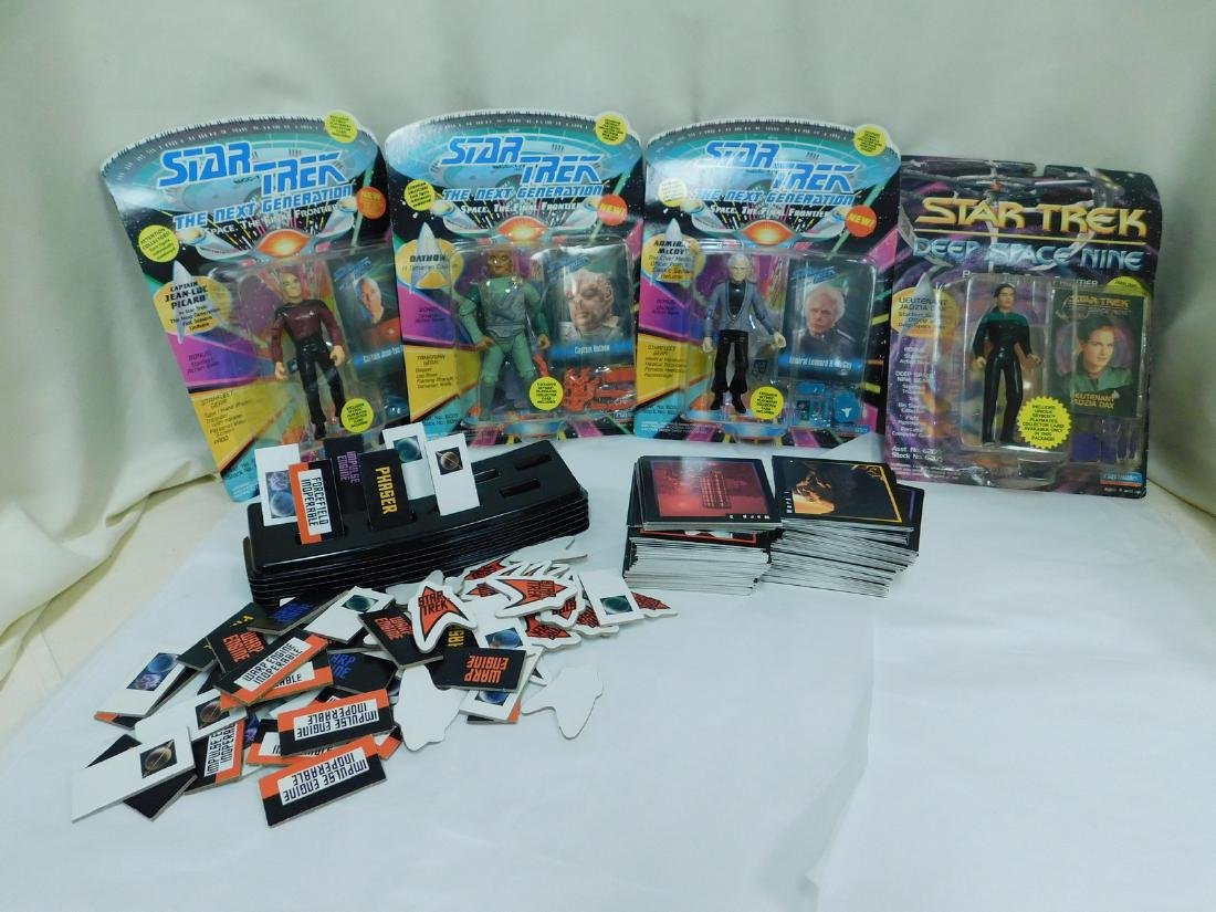 NIB STAR TREK FIGURINES & MORE