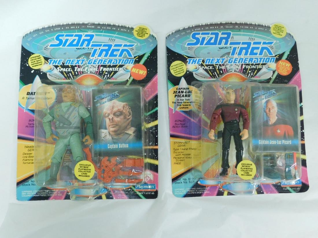 NIB STAR TREK FIGURINES & MORE - 5