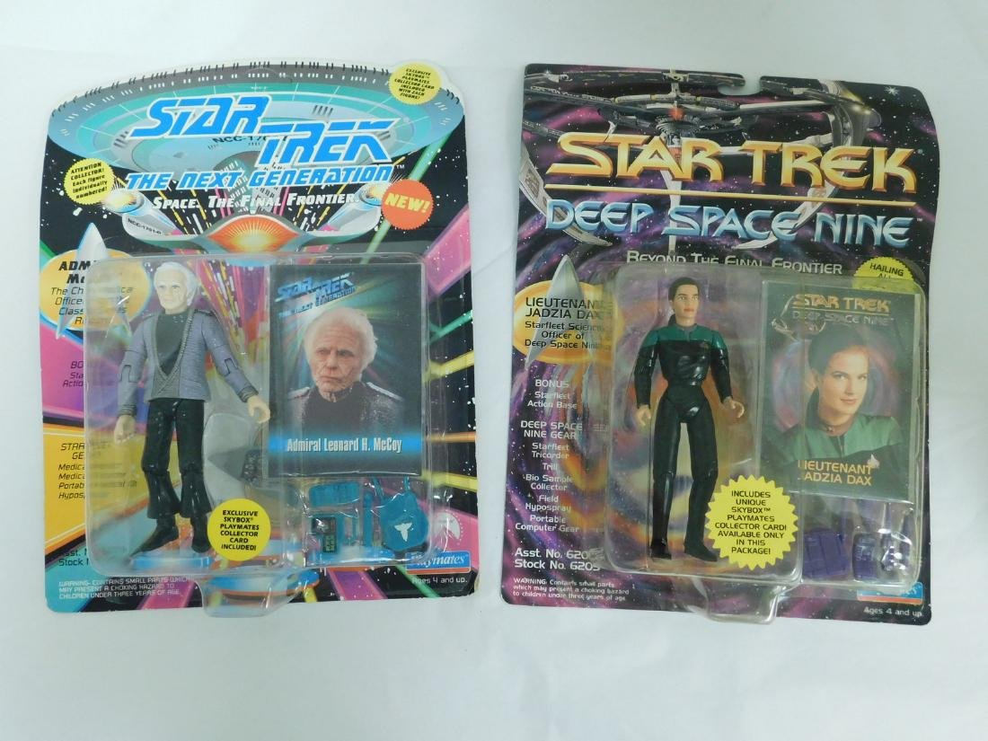 NIB STAR TREK FIGURINES & MORE - 7