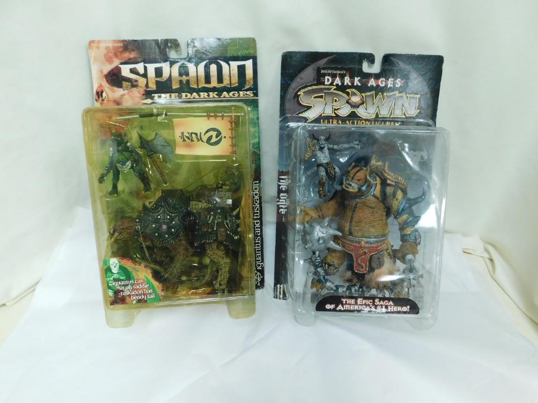 LATE 90'S SPAWN ACTION FIGURES