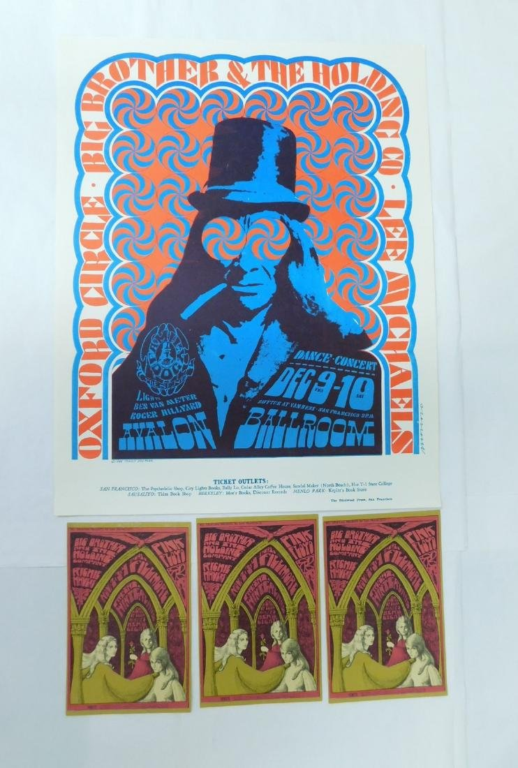 1966 OXFORD CIRCLE CONCERT POSTER & MORE