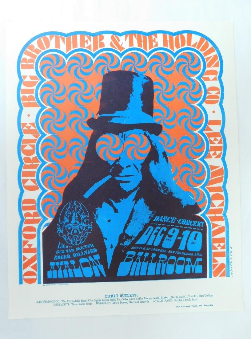 1966 OXFORD CIRCLE CONCERT POSTER & MORE - 2