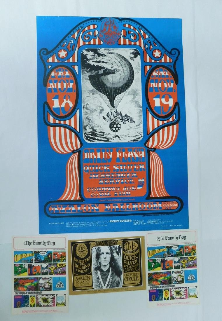1966 DAILY FLASH ORIGINAL CONCERT POSTER & MORE