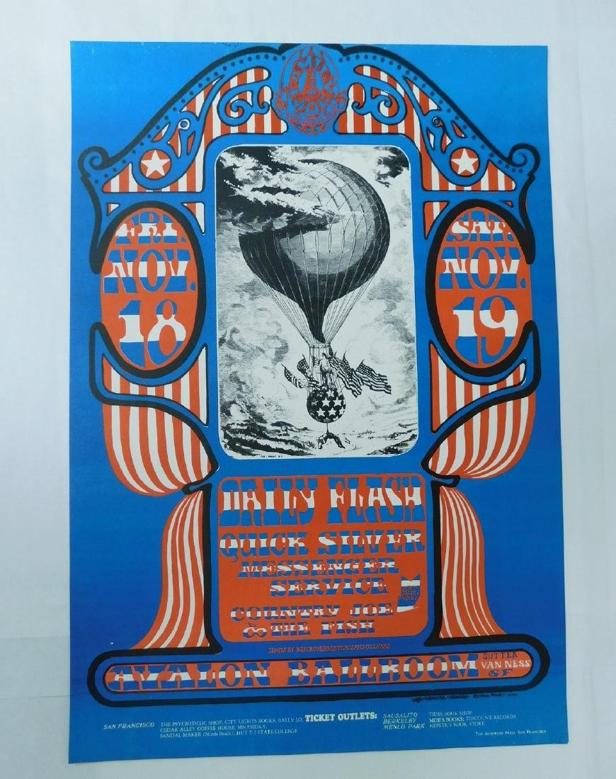 1966 DAILY FLASH ORIGINAL CONCERT POSTER & MORE - 2