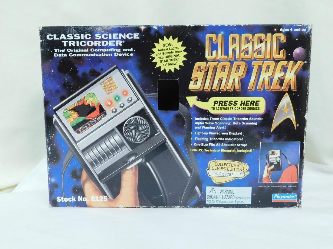 STAR TREK ACTION TOYS - 2