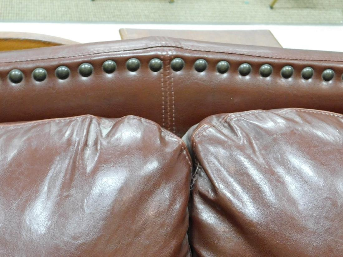 LEATHER LOVESEAT - 3