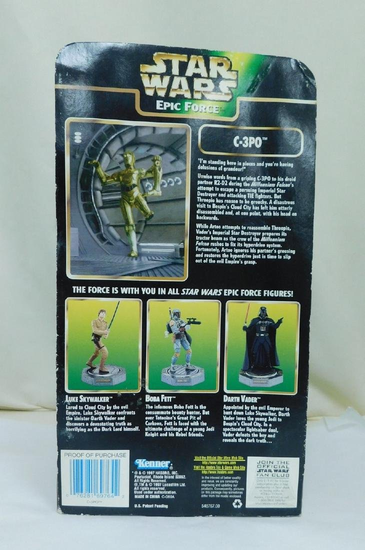 STAR WARS ACTION FIGURES AND BATH SET - 4