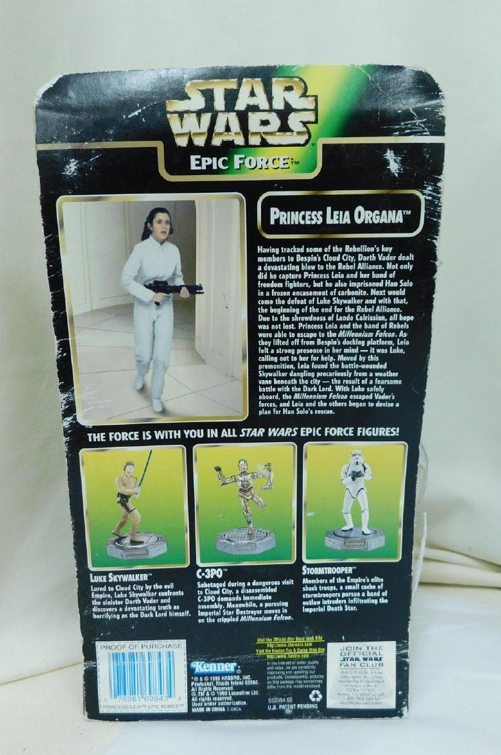 STAR WARS ACTION FIGURES AND BATH SET - 7