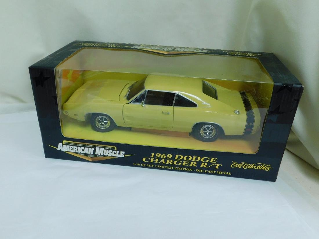 2 1:18 SCALE DODGE DIE CAST CARS - 2