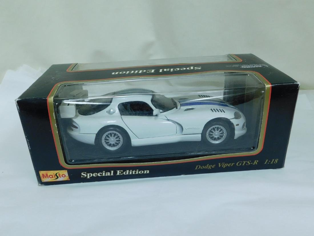 2 1:18 SCALE DODGE DIE CAST CARS - 6