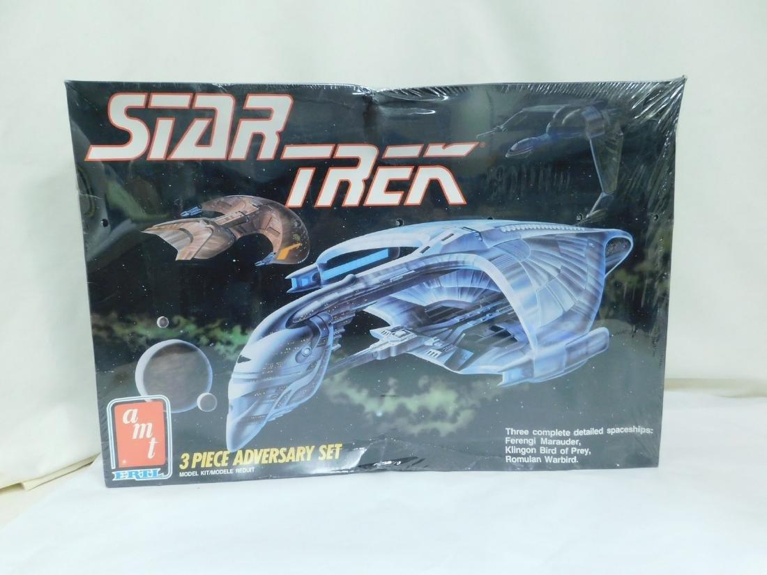AMT ERTL VINTAGE STAR TREK MODEL KITS - 2