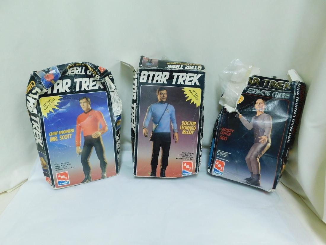 AMT ERTL VINTAGE STAR TREK MODEL KITS - 4