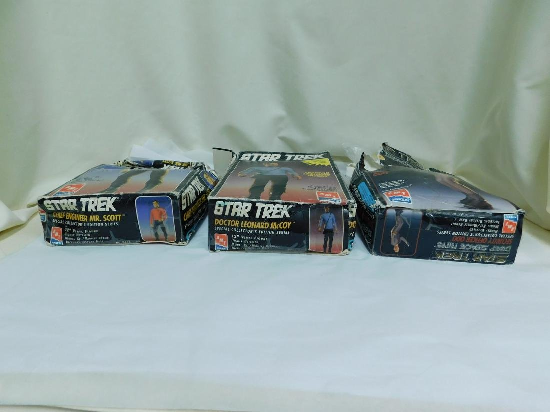 AMT ERTL VINTAGE STAR TREK MODEL KITS - 5