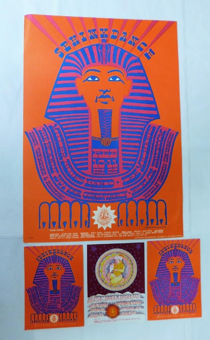 SPHINX DANCE MILLER BLUES BAND CONCERT POSTER & MO