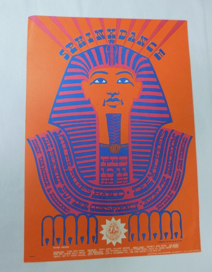SPHINX DANCE MILLER BLUES BAND CONCERT POSTER & MO - 2