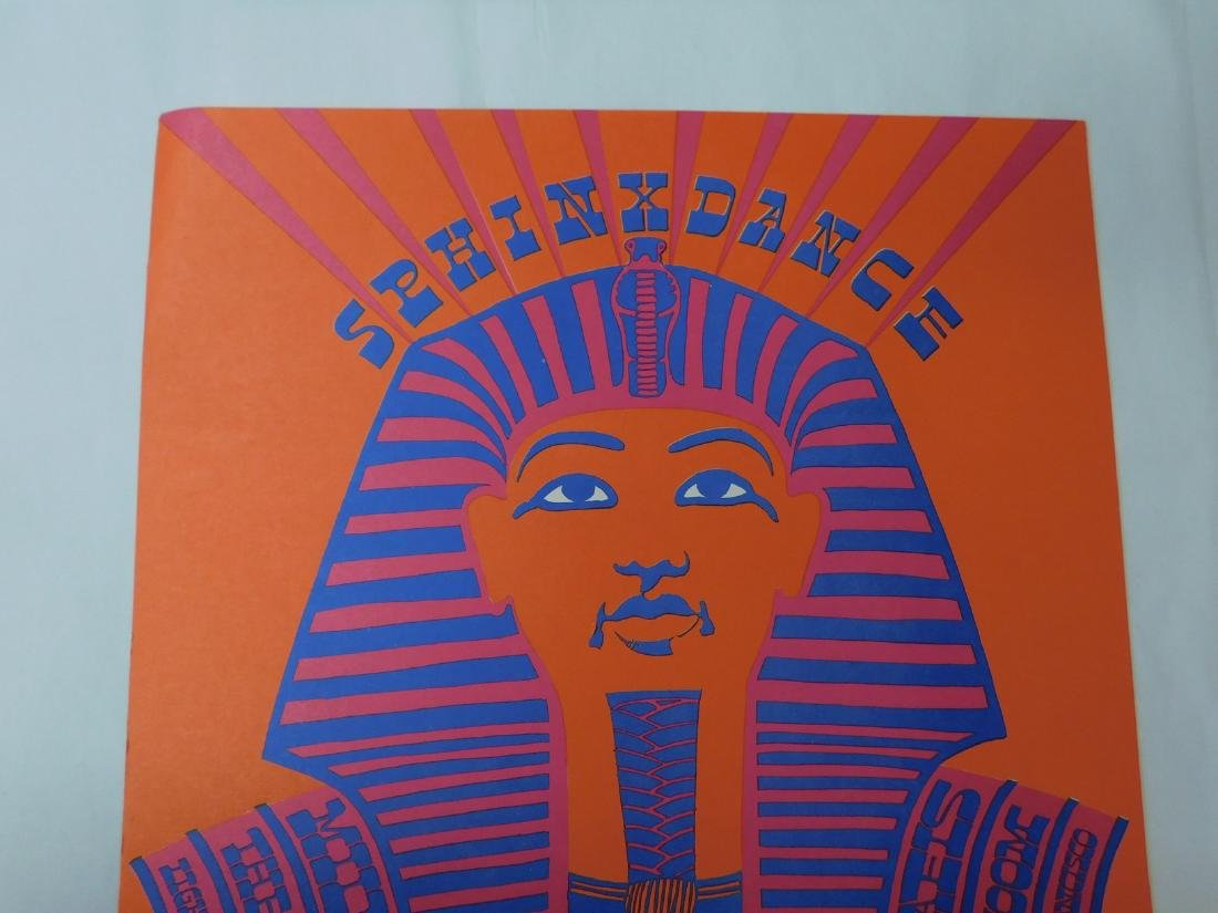 SPHINX DANCE MILLER BLUES BAND CONCERT POSTER & MO - 3