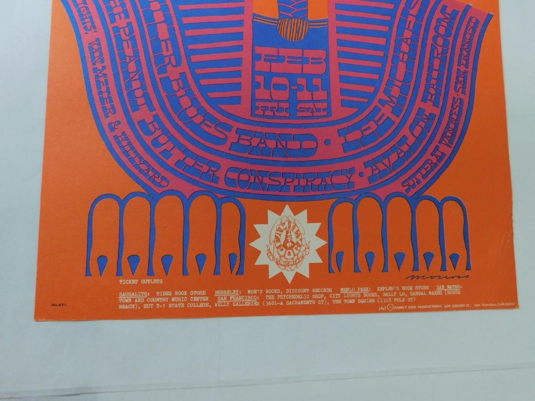SPHINX DANCE MILLER BLUES BAND CONCERT POSTER & MO - 5