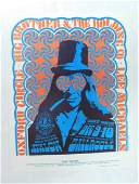 1966 BIG BROTHERS  THE HOLDING CO CONCERT POSTER