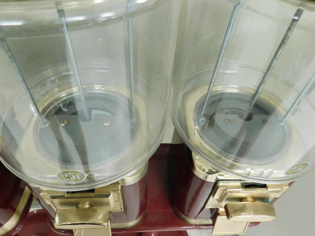 2 DOUBLE CANDY MACHINES ON STAND - 3