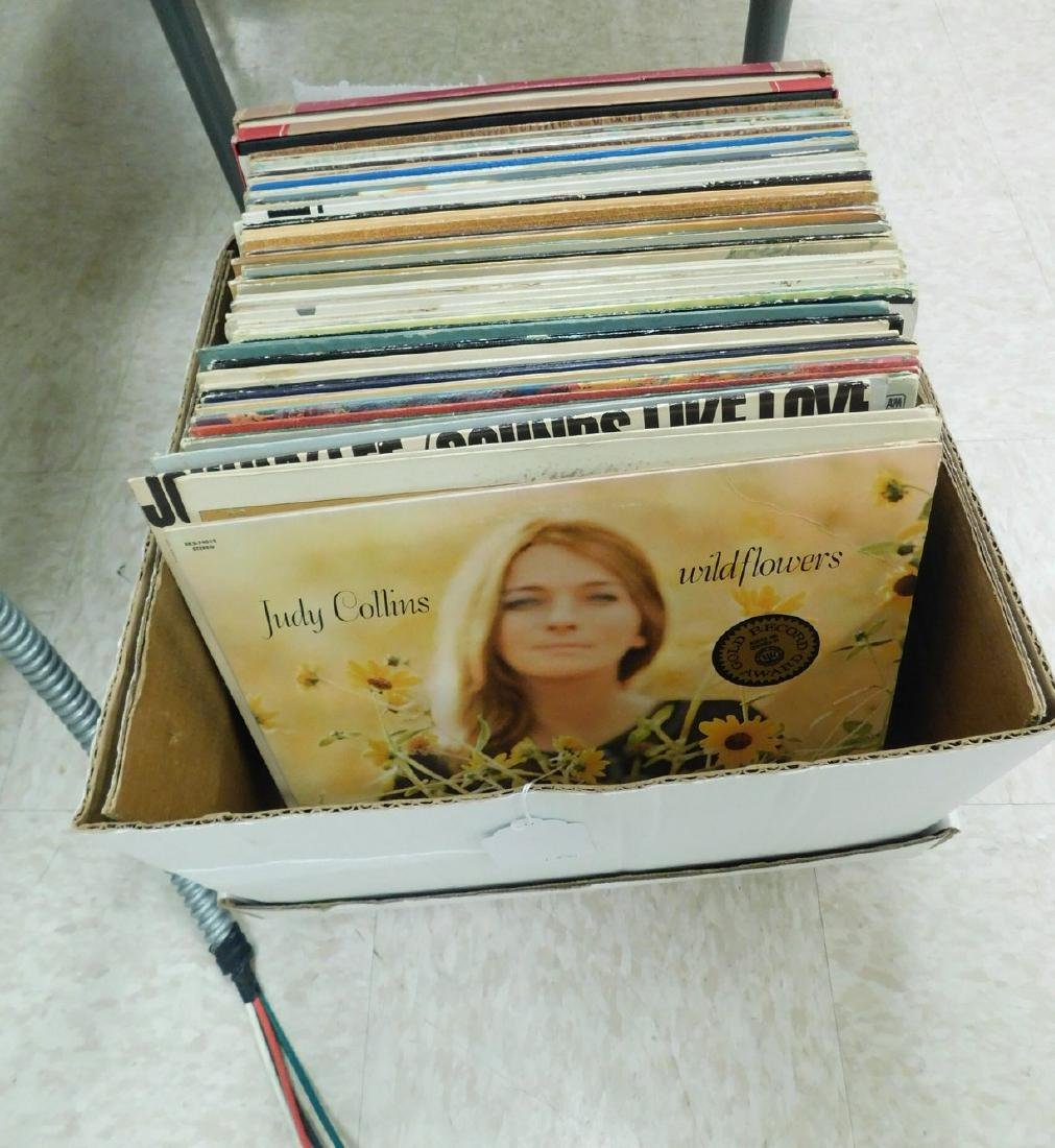 BOX OF ASSORTED VINYL RECORDS