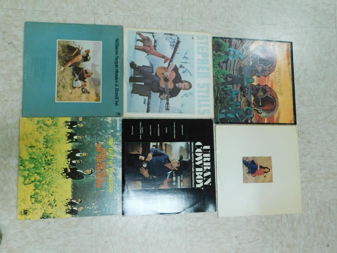BOX OF ASSORTED VINYL RECORDS - 3