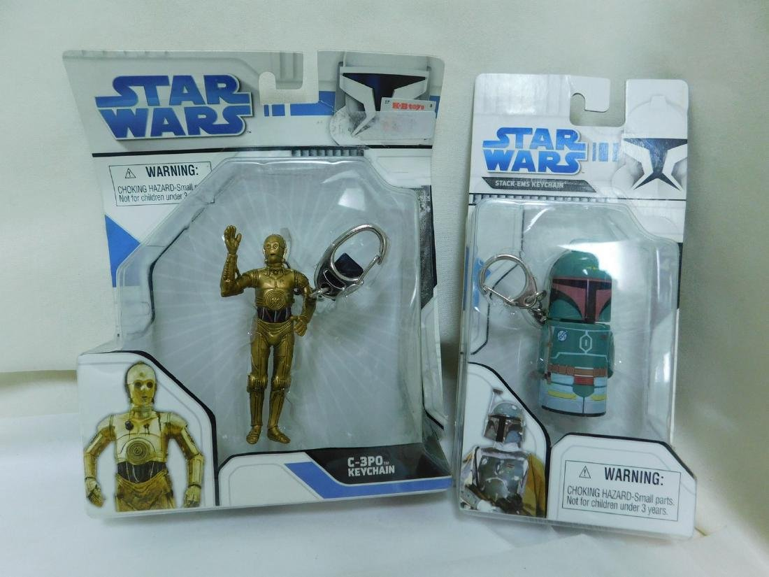 STAR WARS FIGURES WITH COLLECTORS COINS & MORE - 2
