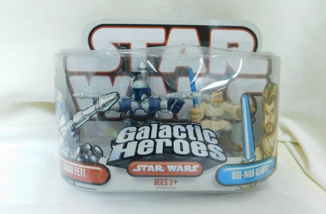 STAR WARS FIGURES WITH COLLECTORS COINS & MORE - 5