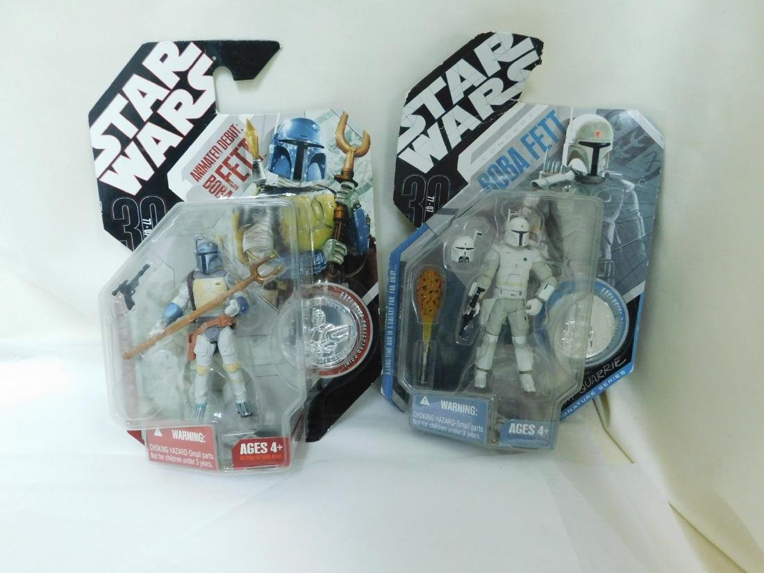 STAR WARS FIGURES WITH COLLECTORS COINS & MORE - 6