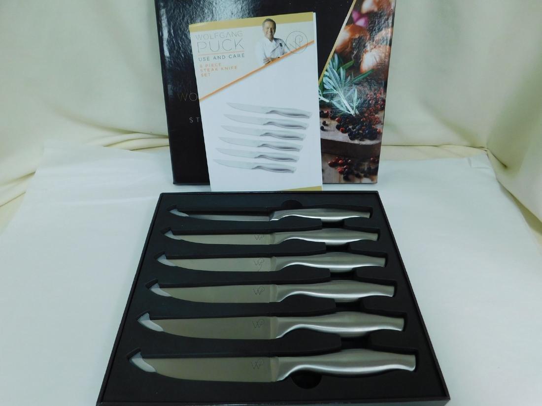 WOLFGANG PUCK STEAK KNIFE SET & COOKS ESSENTIALS H - 3