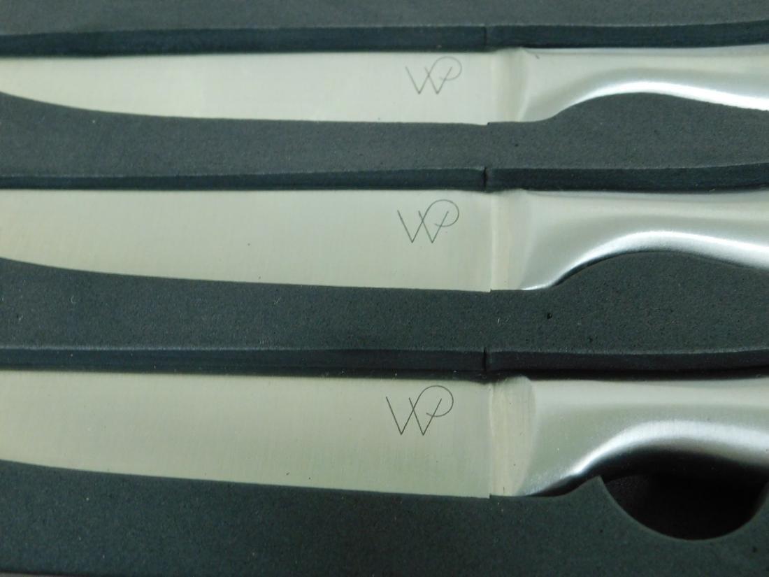 WOLFGANG PUCK STEAK KNIFE SET & COOKS ESSENTIALS H - 5