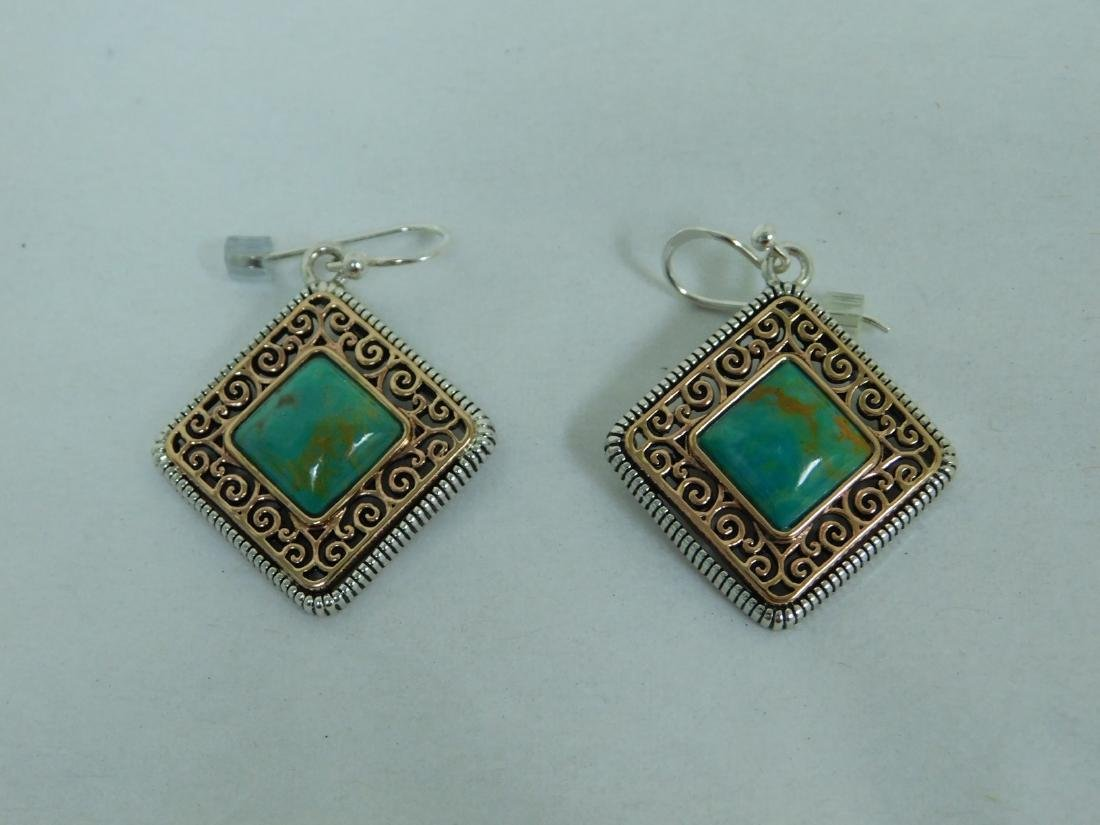 STERLING PENDANT WITH MATCHING EARRINGS - 5