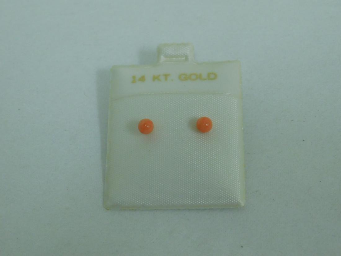 10K GOLD PENDANT - 14K GOLD EARRINGS & MORE - 4