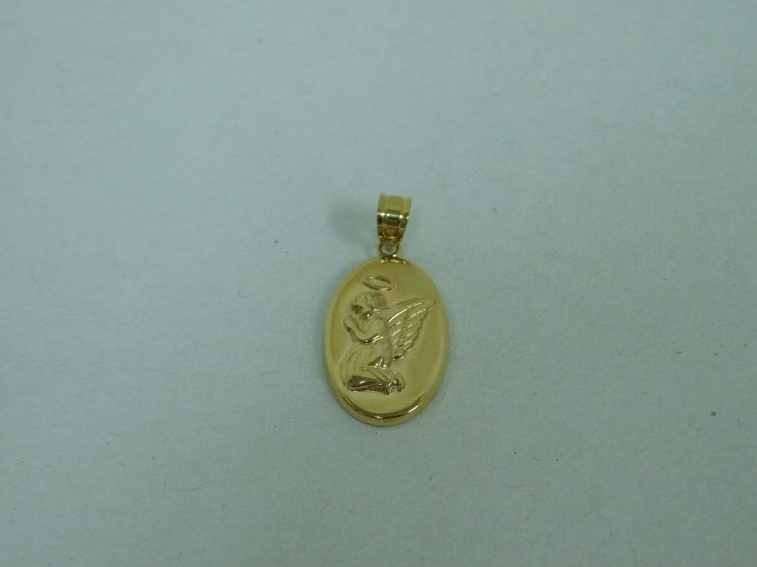 10K GOLD PENDANT - 14K GOLD EARRINGS & MORE - 6
