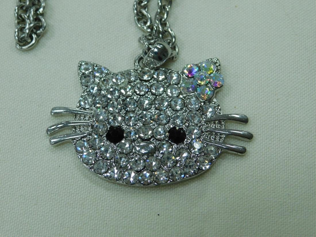VARIOUS HELLO KITTY RHINESTONE JEWELRY AND A BRACE - 3