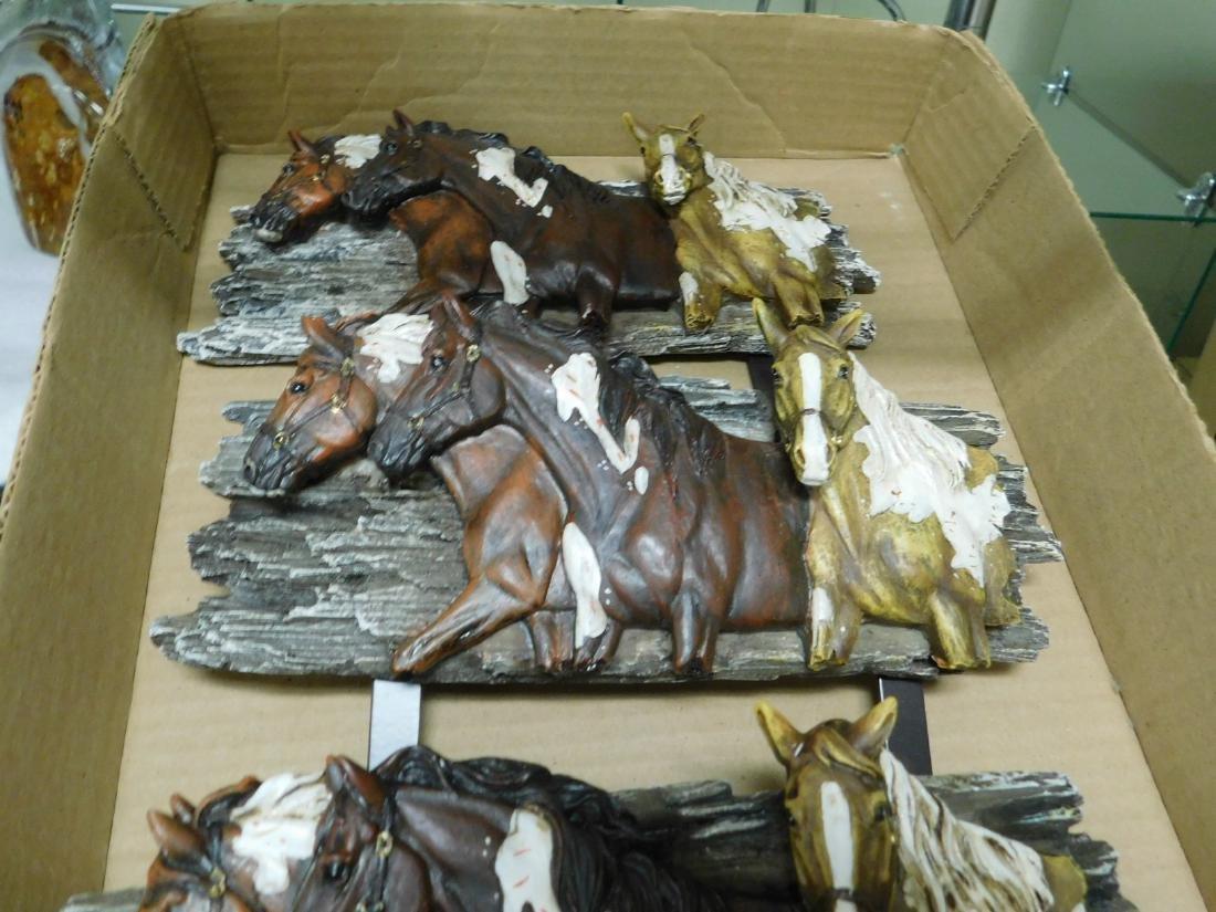 HORSE MOTIF WALL HANGERS - 2